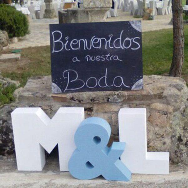 Letras para de boda letras gigantes para boda with letras for Letras gigantes para bodas baratas